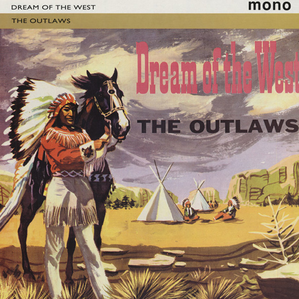 Outlaws Dream Of The West Vinyl Surf Instrumental Rock