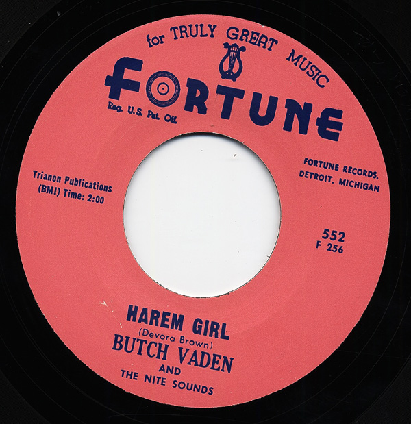 Butch Vaden And Nite Sounds Harem Girl The Roll