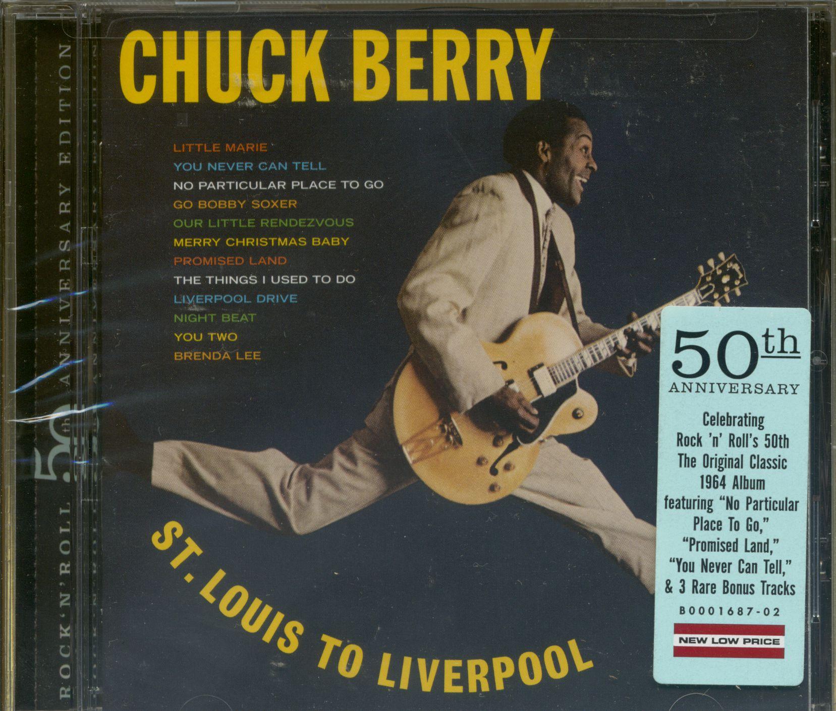 Chuck Berry St Louis To Liverpool 1964 Plus 50th Ann