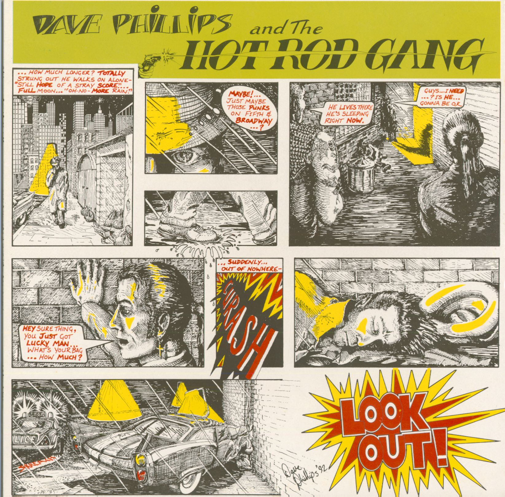 Dave Phillips and The Hot Rod Gang - Wild Youth