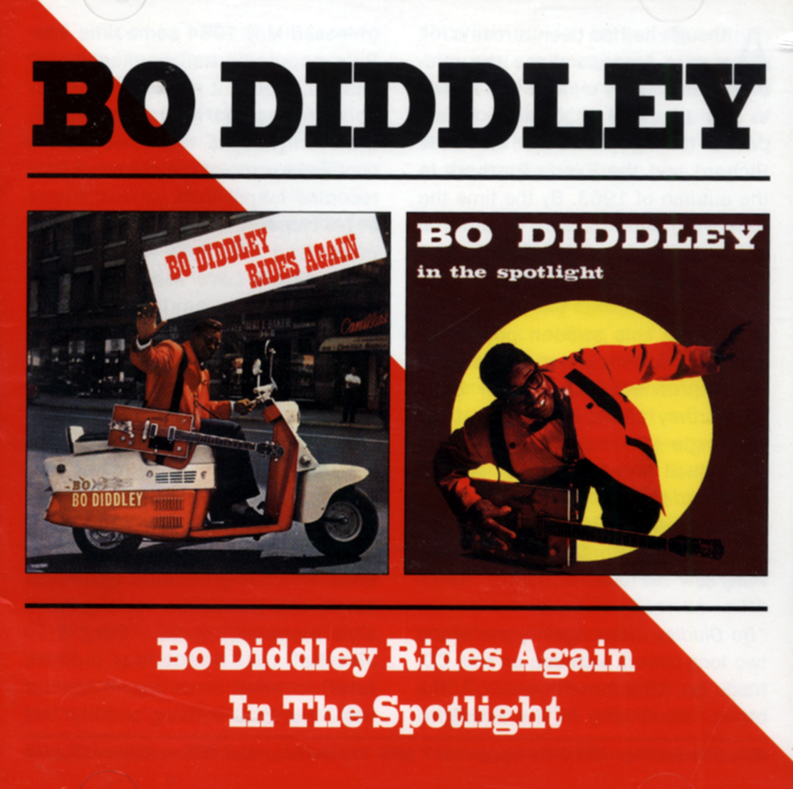 BO Diddley Manèges Again IN THE Spotlight Rock Roll 5017261204240