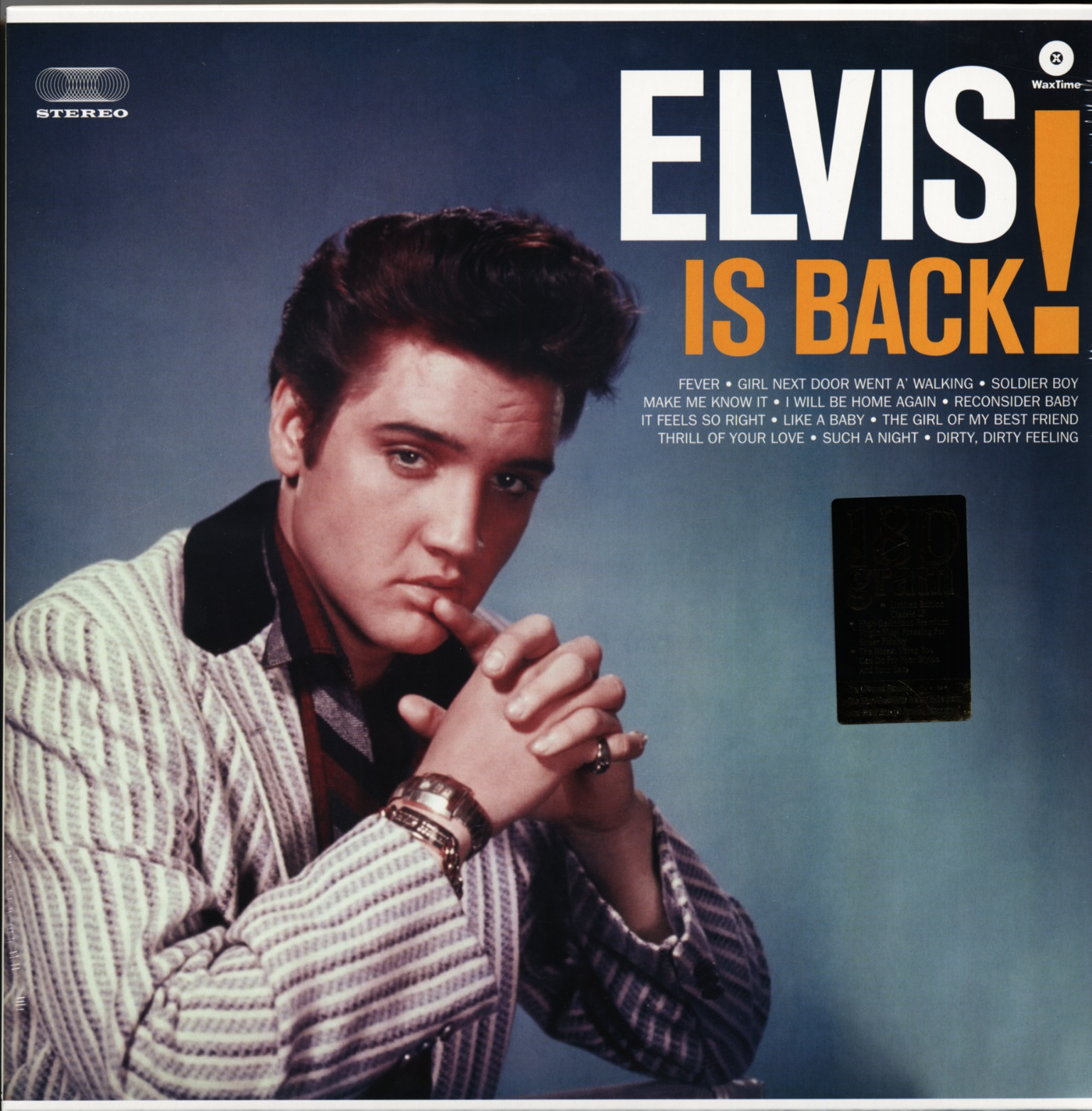 elvis presley elvis is back 180g lp elvis vinyl ebay. Black Bedroom Furniture Sets. Home Design Ideas