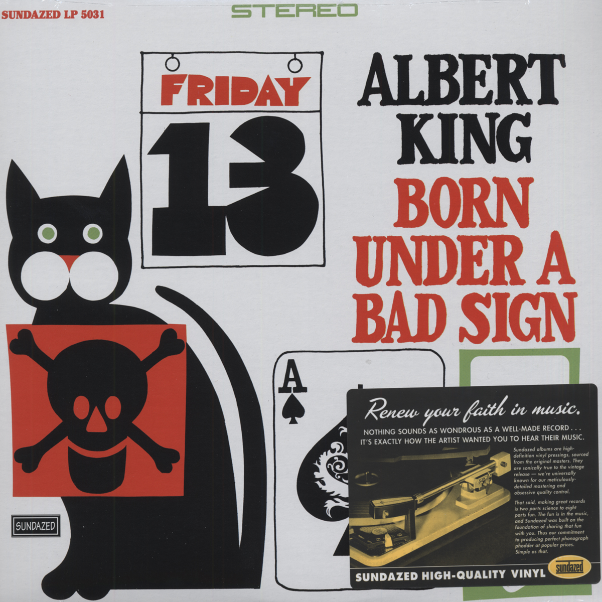 Albert King Crosscut Saw