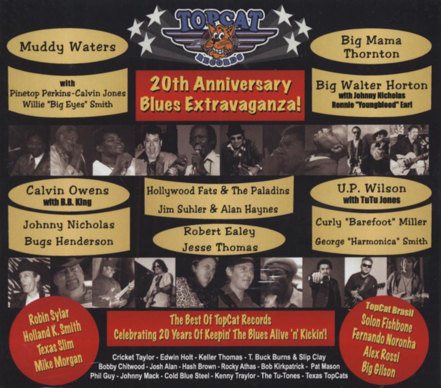 Various - Topcat Records 20th Anniversary Extravaganza - Blues Label Compilat...